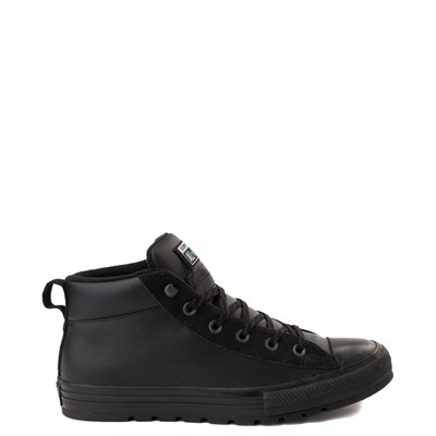 Main view of Converse Chuck Taylor All Star Street Leather Mid Sneaker - Black