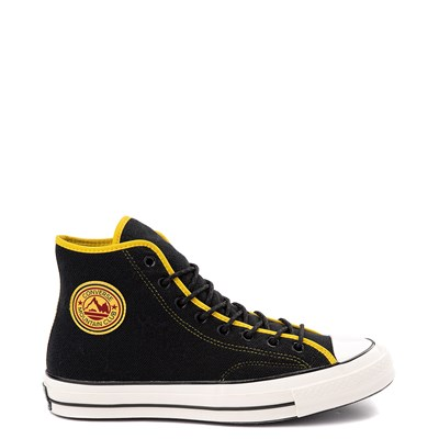 Main view of Converse Chuck 70 Hi Sneaker - Black / Vivid Sulfur
