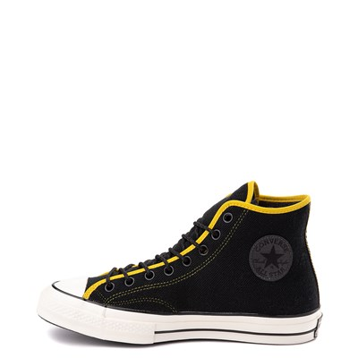 Alternate view of Converse Chuck 70 Hi Sneaker - Black / Vivid Sulfur