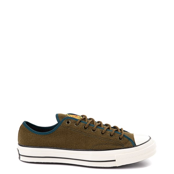 Converse Chuck 70 Lo Sneaker - Surplus Olive / Midnight Turquoise