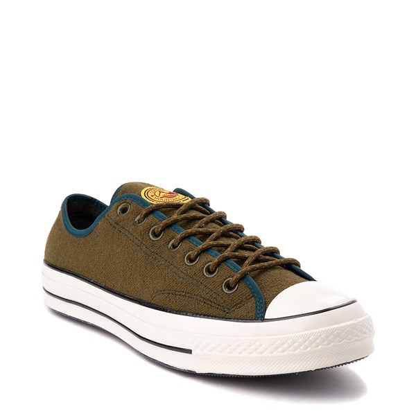 Alternate view of Converse Chuck 70 Lo Sneaker - Surplus Olive / Midnight Turquoise