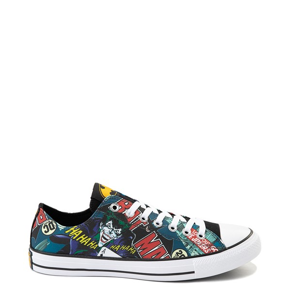 Converse Chuck Taylor All Star Lo DC Comics Batman Sneaker - Black / Multicolor