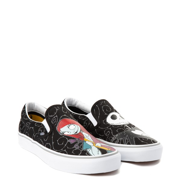 alternate view Vans x The Nightmare Before Christmas Slip On Jack & Sally Skate Shoe - BlackALT1B