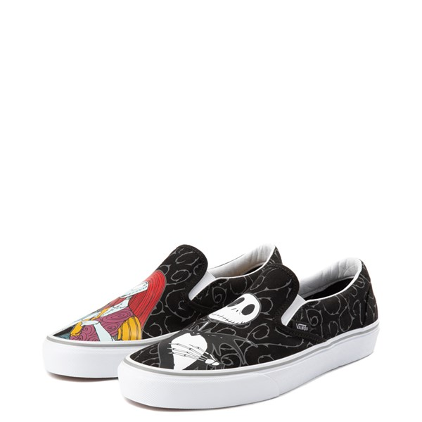 alternate view Vans x The Nightmare Before Christmas Slip On Jack & Sally Skate Shoe - BlackALT3