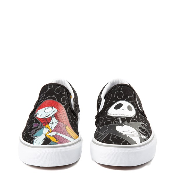 alternate view Vans x The Nightmare Before Christmas Slip On Jack & Sally Skate Shoe - BlackALT4
