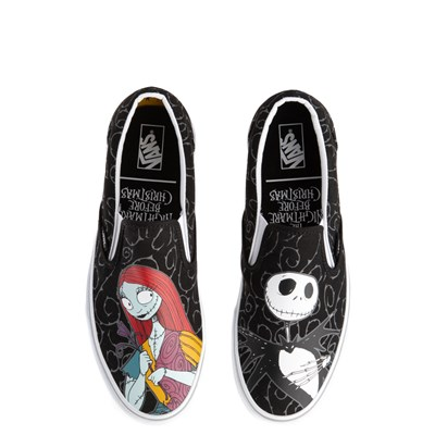 Main view of Vans x The Nightmare Before Christmas Slip On Jack & Sally Skate Shoe - Black