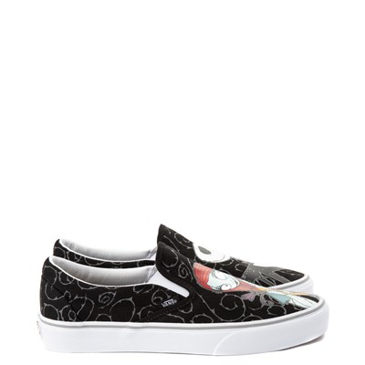 Alternate view of Vans x The Nightmare Before Christmas Slip On Jack & Sally Skate Shoe - Black