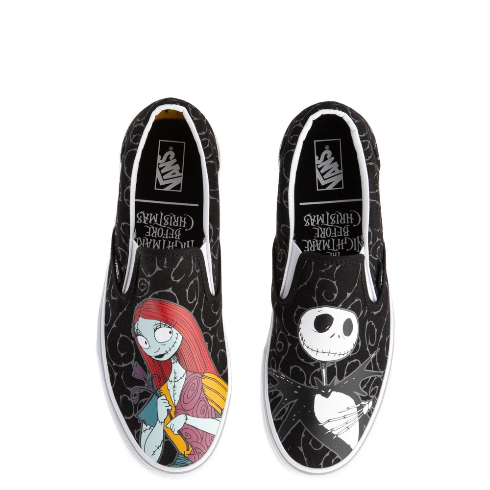 Vans x The Nightmare Before Christmas Slip On Jack & Sally Skate Shoe - Black
