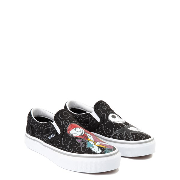 alternate view Vans x The Nightmare Before Christmas Slip On Jack & Sally Skate Shoe - Little Kid / Big Kid - BlackALT1B