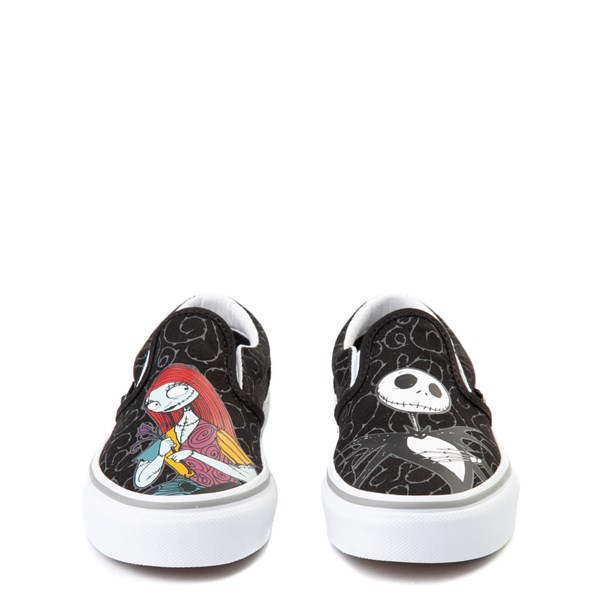 alternate view Vans x The Nightmare Before Christmas Slip On Jack & Sally Skate Shoe - Little Kid / Big Kid - BlackALT4