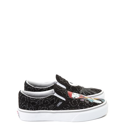 Alternate view of Vans x The Nightmare Before Christmas Slip On Jack & Sally Skate Shoe - Little Kid / Big Kid - Black