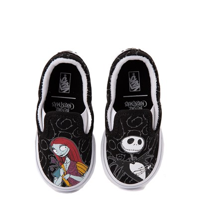 Main view of Vans x The Nightmare Before Christmas Slip On Jack & Sally Skate Shoe - Baby / Toddler - Black