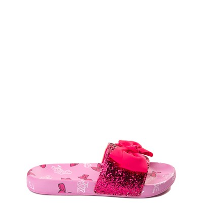 Main view of JoJo Siwa™ Glitter Bow Slide Sandal - Little Kid / Big Kid