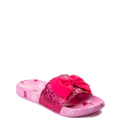 Alternate view of JoJo Siwa™ Glitter Bow Slide Sandal - Little Kid / Big Kid