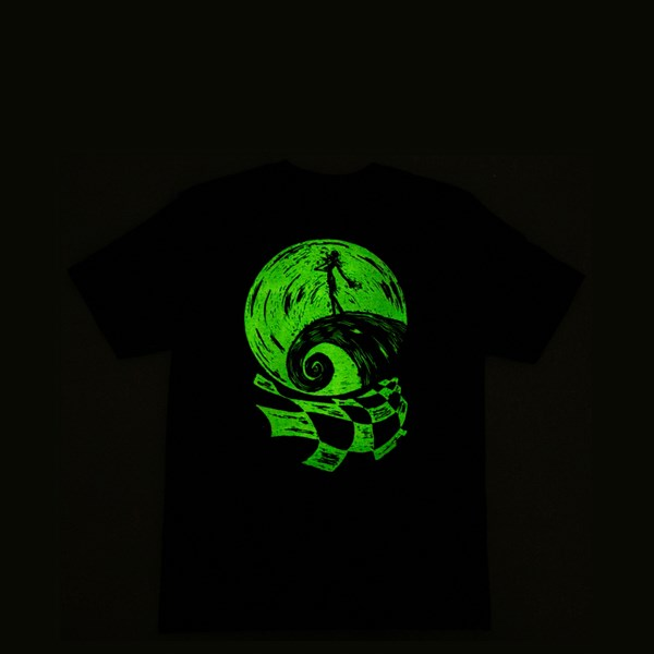 alternate view Vans x The Nightmare Before Christmas Jack Skellington Tee - Little Kid - BlackALT1