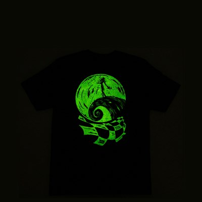 Alternate view of Vans x The Nightmare Before Christmas Jack Skellington Tee - Little Kid - Black