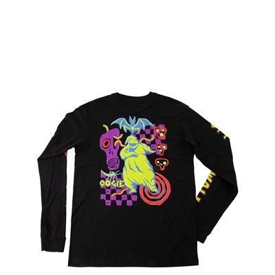 Main view of Vans x The Nightmare Before Christmas Oogie Boogie Long Sleeve Tee - Little Kid - Black