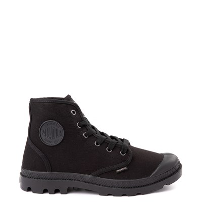 Main view of Mens Palladium Pampa Hi Boot - Black