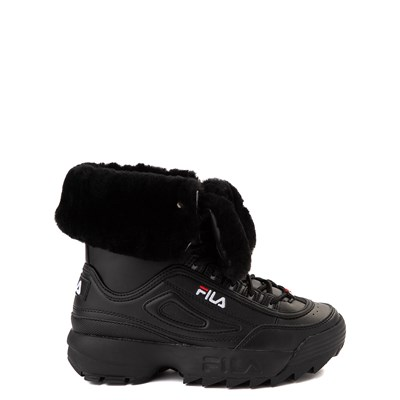 Main view of Fila Disruptor Shearling Boot - Big Kid