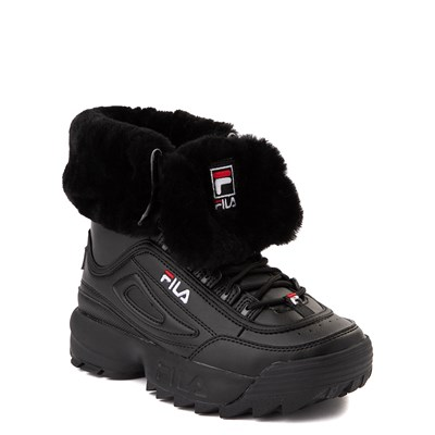 Alternate view of Fila Disruptor Shearling Boot - Big Kid