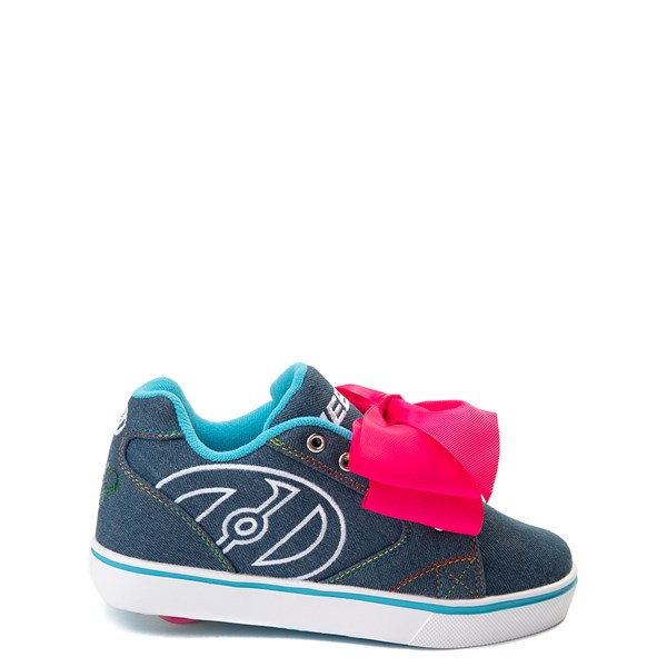 Heelys Propel JoJo Siwa™ Skate Shoe - Little Kid / Big Kid - Denim / Pink