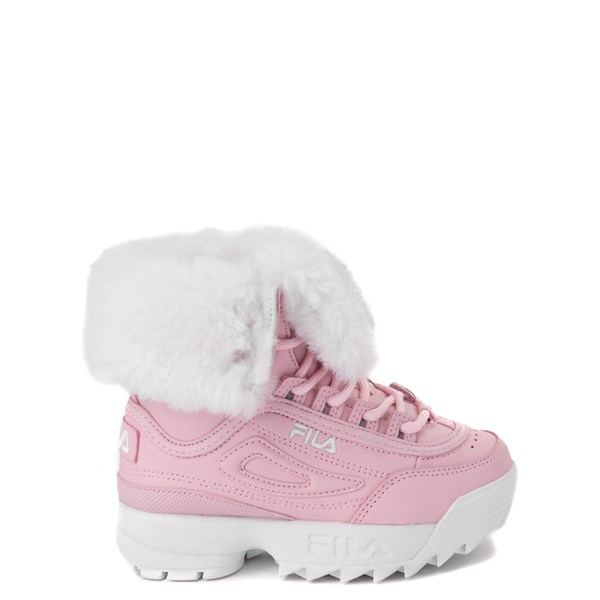 Fila Disruptor Shearling Boot - Baby / Toddler - Pink