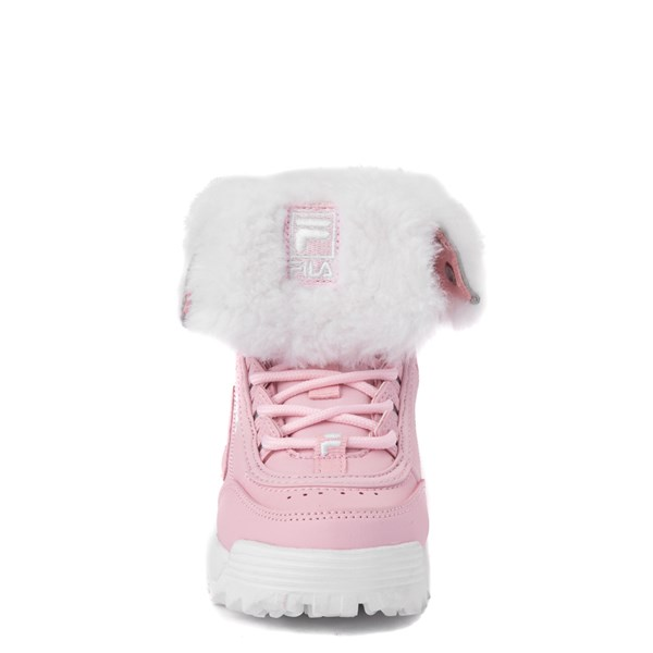 alternate view Fila Disruptor Shearling Boot - Baby / ToddlerALT4