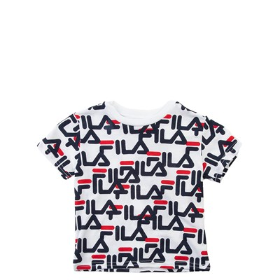 Main view of Fila All-Over Logo Tee - Toddler - White