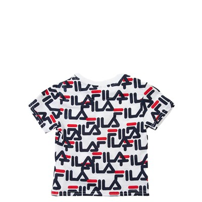 Alternate view of Fila All-Over Logo Tee - Toddler