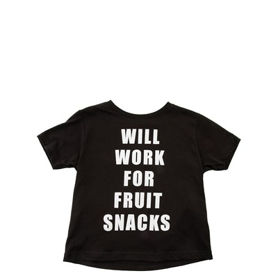 Main view of Will Work For Fruit Snacks Tee - Toddler
