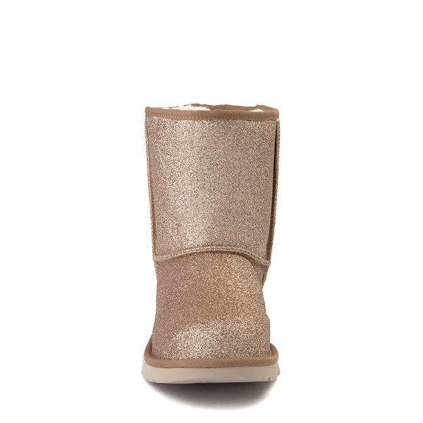 alternate view UGG® Classic II Glitter Boot - Little Kid / Big Kid - GoldALT4
