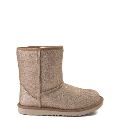 Main view of UGG® Classic II Glitter Boot - Little Kid / Big Kid - Gold