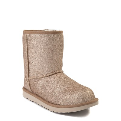 Alternate view of UGG® Classic II Glitter Boot - Little Kid / Big Kid - Gold