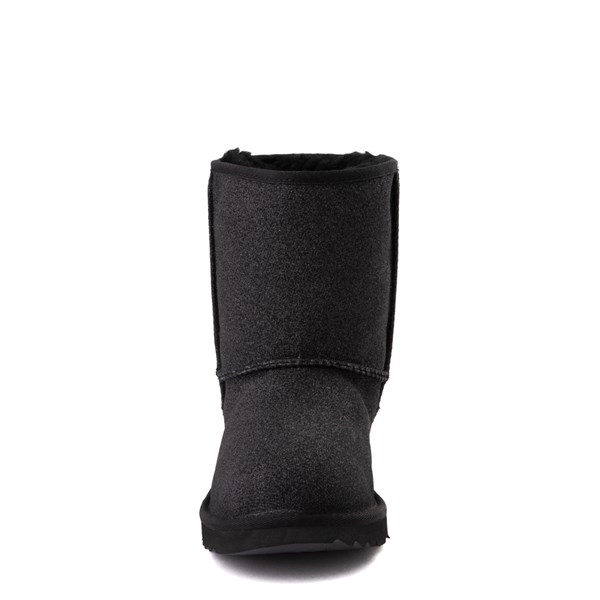 alternate view UGG® Classic II Glitter Boot - Little Kid / Big Kid - BlackALT4