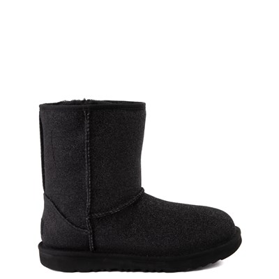 Main view of UGG® Classic II Glitter Boot - Little Kid / Big Kid - Black