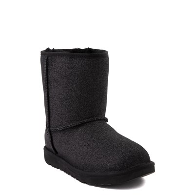 Alternate view of UGG® Classic II Glitter Boot - Little Kid / Big Kid - Black
