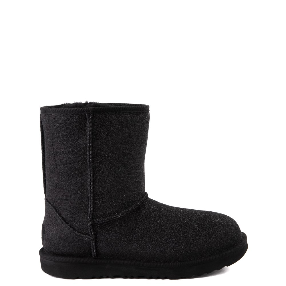 UGG® Classic II Glitter Boot - Little Kid / Big Kid - Black