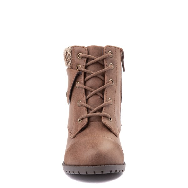 alternate view Sarah-Jayne Jocelyn Hiker Boot - Toddler / Little Kid - BrownALT4