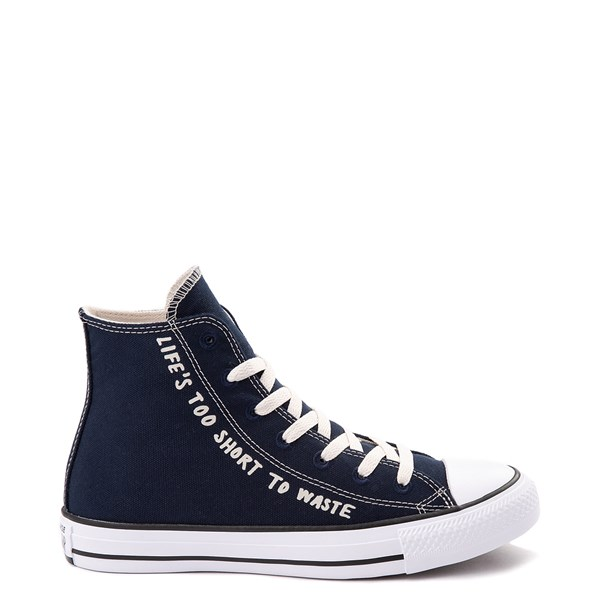 Default view of Converse Chuck Taylor All Star Hi Renew P.E.T. Sneaker - Obsidian
