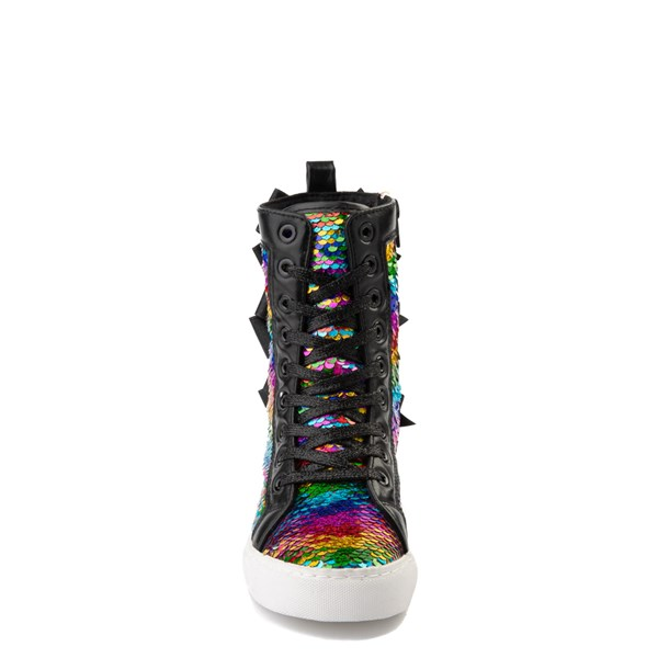 alternate view JoJo Siwa™ X-Hi Two-Tone Sequin Sneaker - Little Kid / Big KidALT4