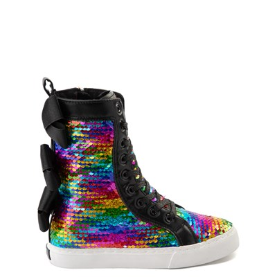 Main view of JoJo Siwa™ X-Hi Two-Tone Sequin Sneaker - Little Kid / Big Kid