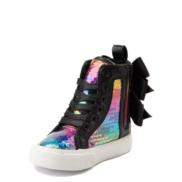 alternate view JoJo Siwa™ X-Hi Sequin Sneaker - ToddlerALT3