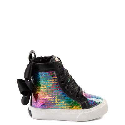 Main view of JoJo Siwa™ X-Hi Sequin Sneaker - Toddler - Black / Multi