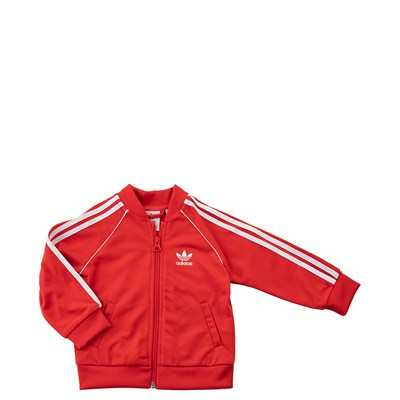 Alternate view of adidas Superstar Track Suit - Toddler - Red