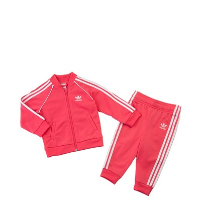 Main view of adidas Superstar Track Suit - Toddler - Pink