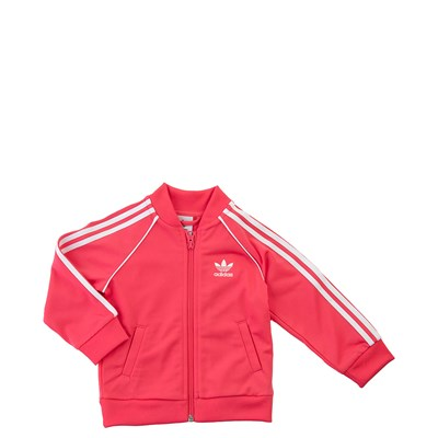 Alternate view of adidas Superstar Track Suit - Toddler - Pink