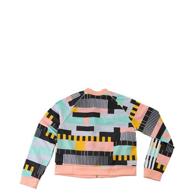 Alternate view of adidas Superstar Cropped Track Jacket - Little Kid