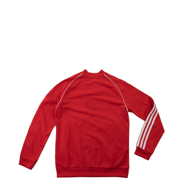 alternate view adidas Superstar Track Jacket - Little Kid / Big Kid - RedALT1