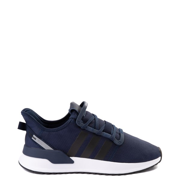 Main view of Mens adidas U_Path Run Athletic Shoe - Collegiate Navy / Black