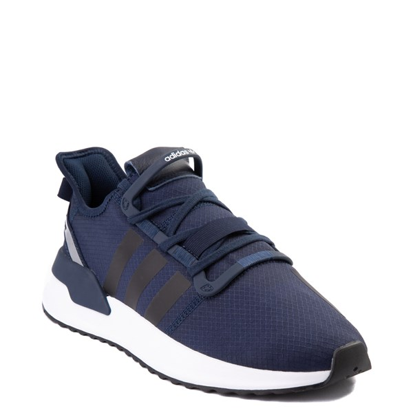alternate view Mens adidas U_Path Run Athletic Shoe - Collegiate Navy / BlackALT1